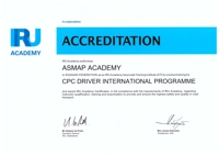 THE CPC DRIVER INTERNATIONAL PROGRAMME